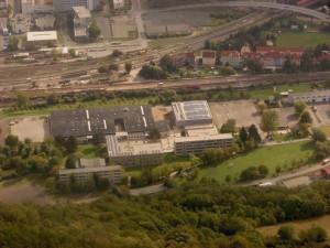 Luftbild unseres Schulgeländes